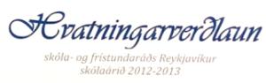Hvatningarverðlaun SFS 2013